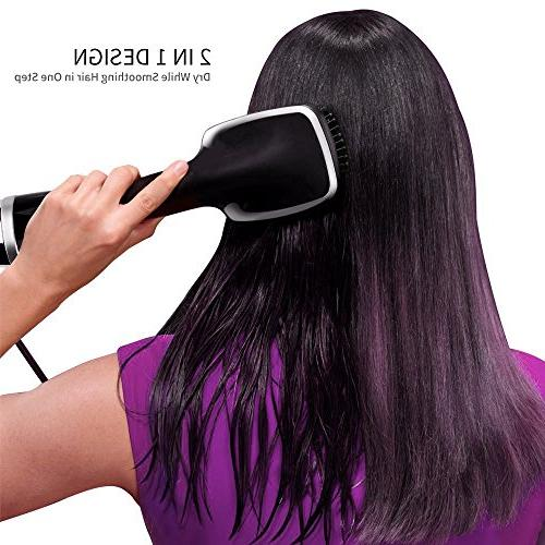 One-Step Hair Dryer Straightener, YaFex Negative Hot - Powerful, Lightweight Ergonomic Design