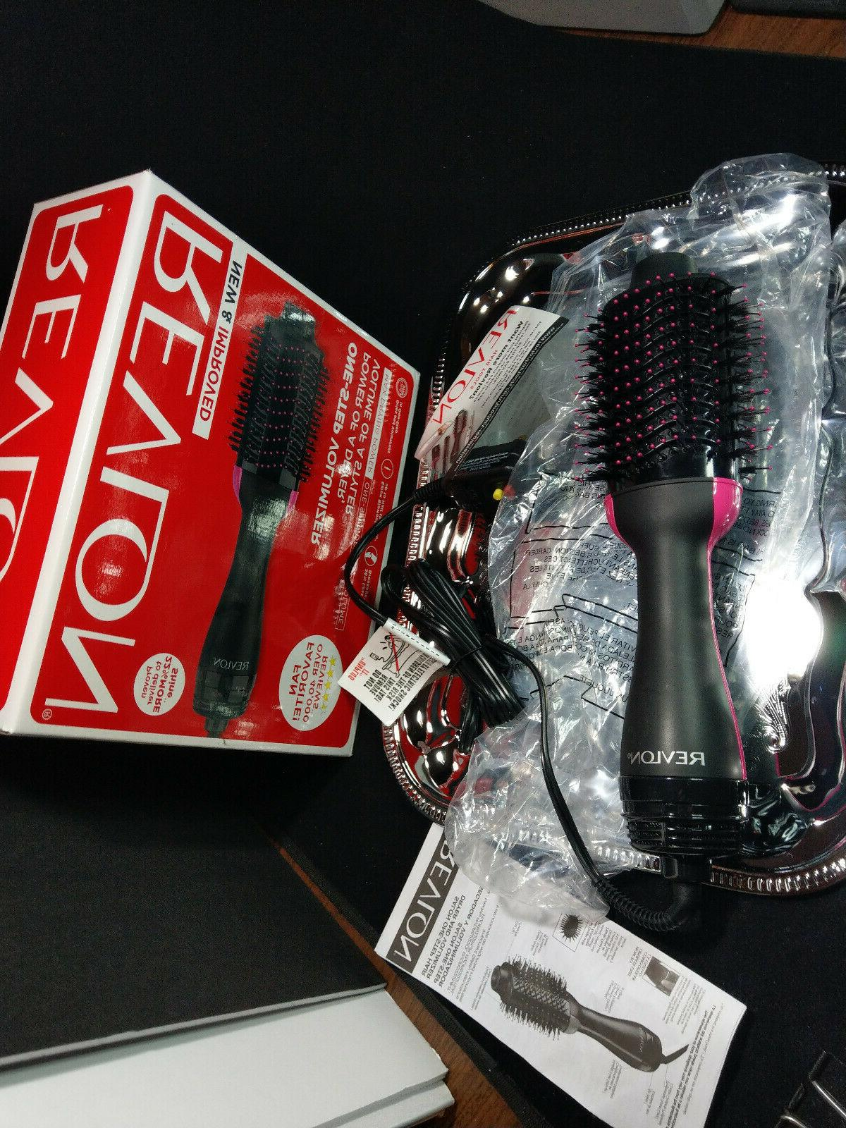 one step hair dryer volumizer brush professional