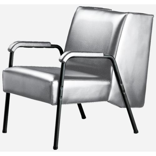 open base dryer chair gray
