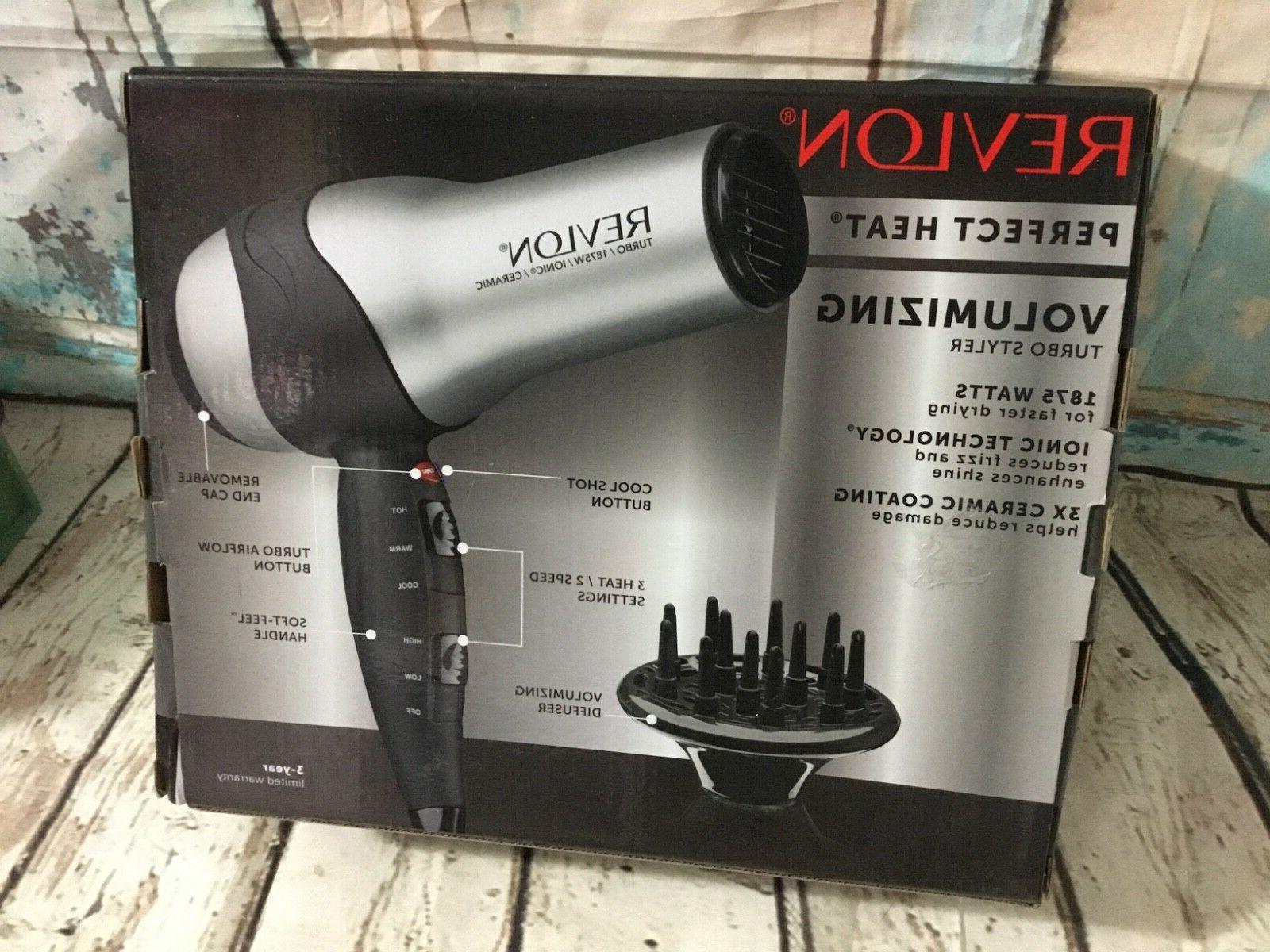 Revlon perfect Watt Volumizing turbo styler Hair Dryer