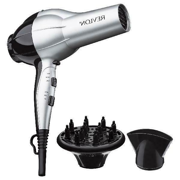 perfect heat ceramic ionic hair dryer silver
