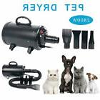 Portable Dog Cat Pet Grooming Dryer 2400W Salon Blow Hair Dr