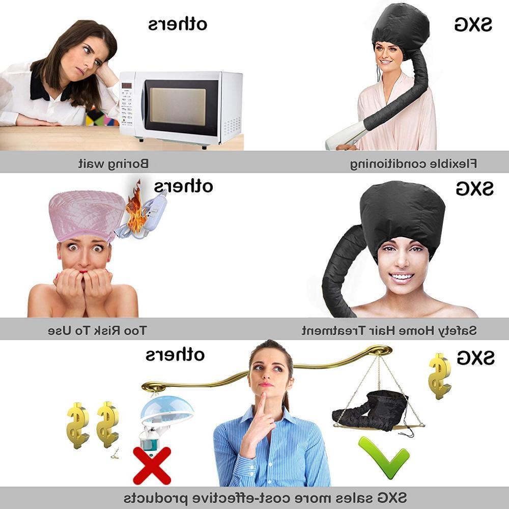 Portable Travel Hood Bonnet Attachment Haircare
