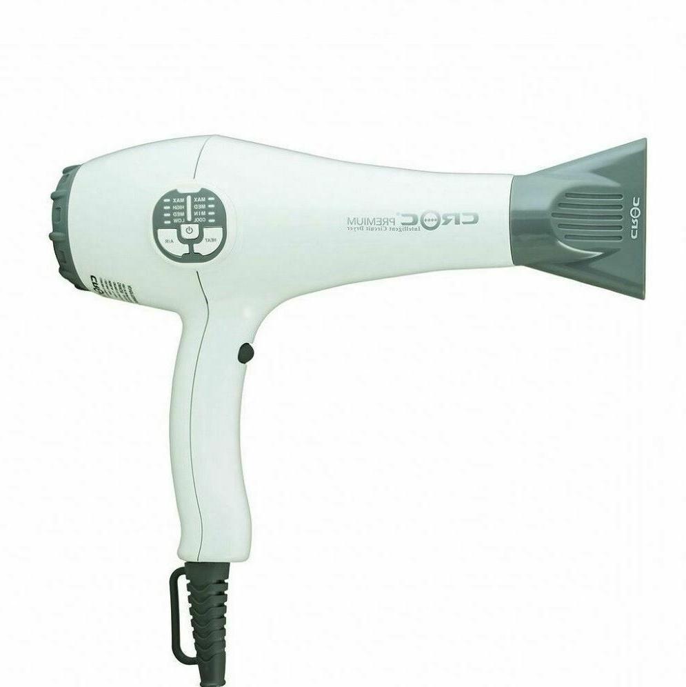 premium ic intelligent circuit hair blow dryer