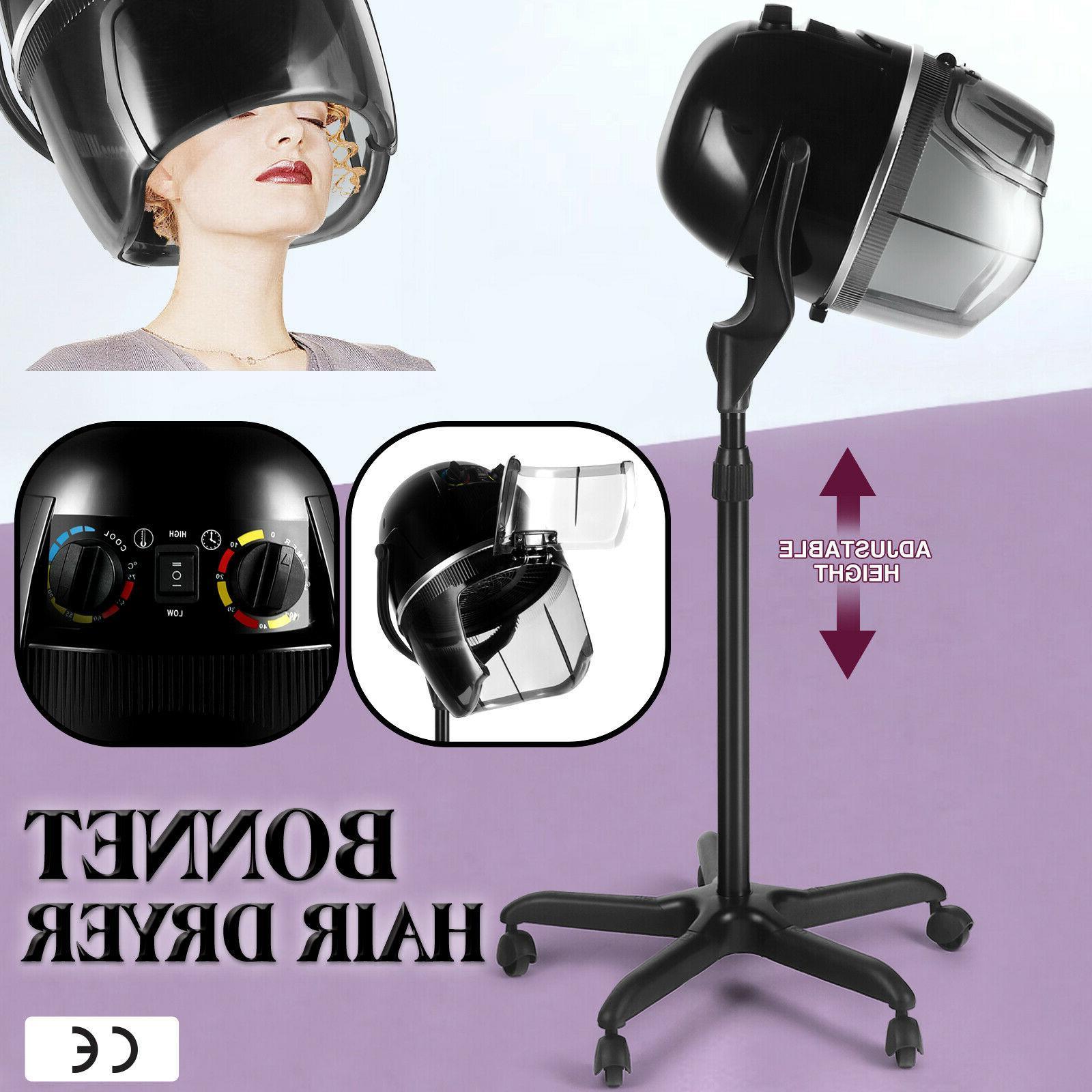 pro adjustable bonnet hair dryer timer swivel
