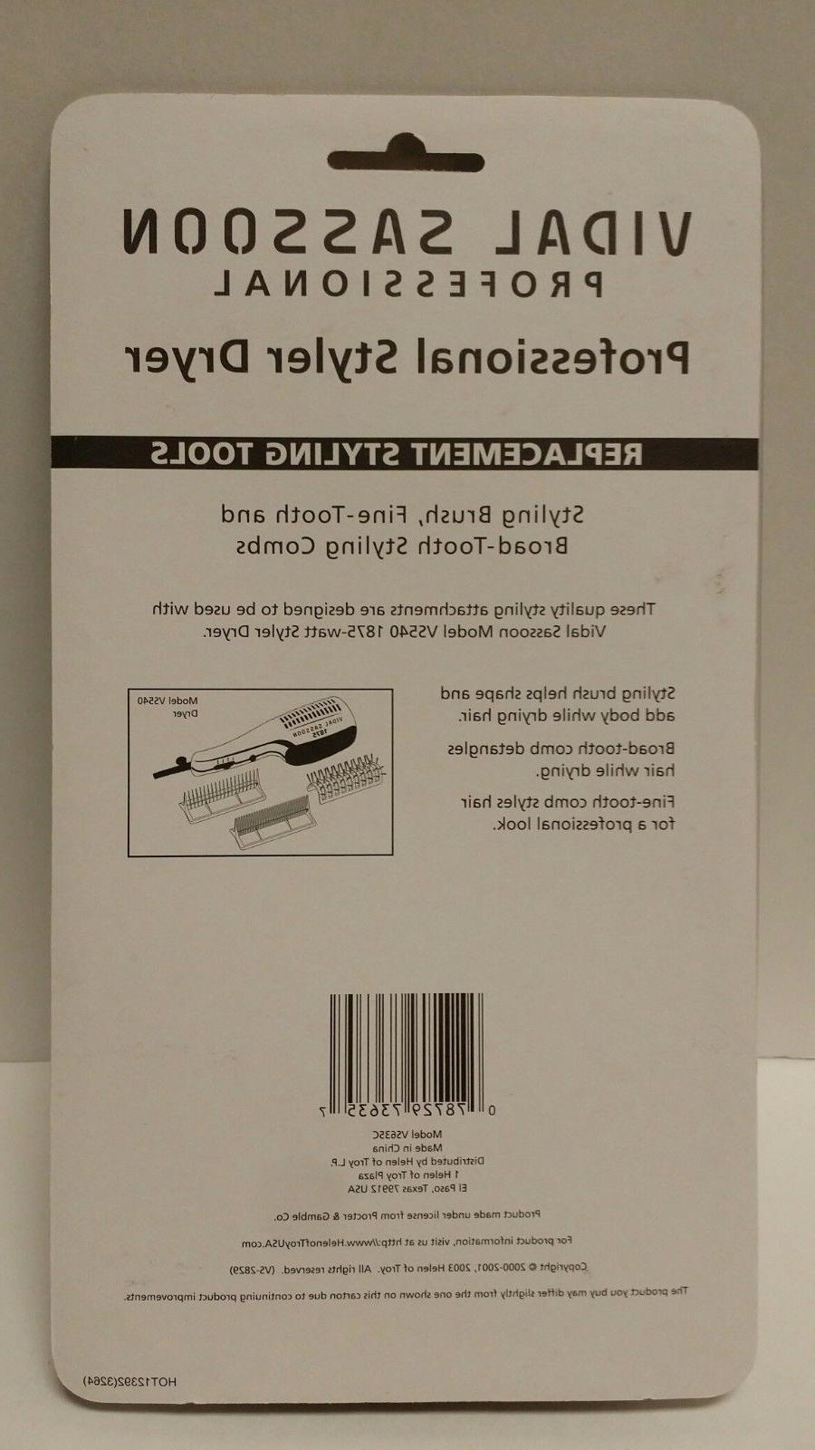Vidal Sassoon Styler Comb Attachment /
