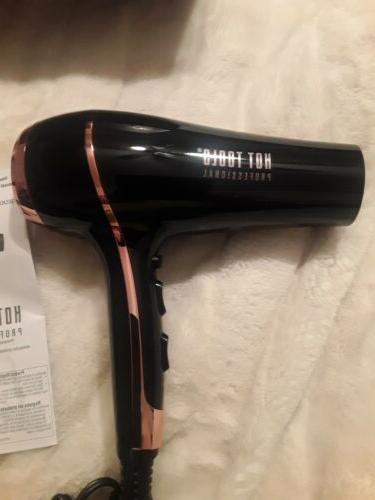Hot Tools Golden Rose Collection Black Rose Ionic Dryer