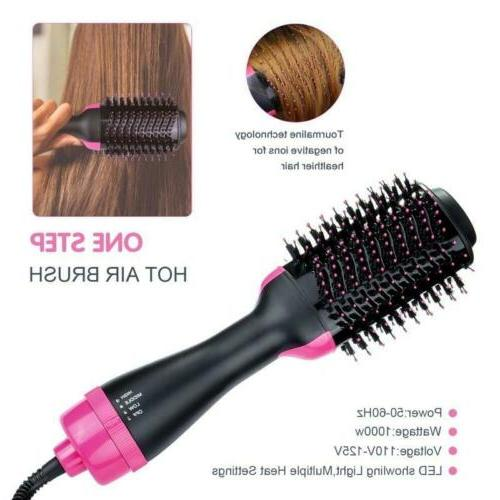 2 in1 One-Step Blow Brush