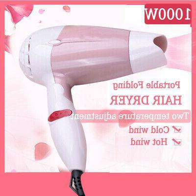 professional hair dryer household travel flodable mini