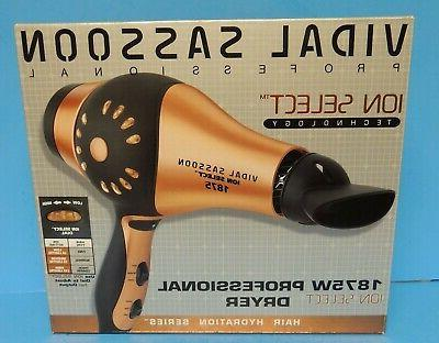 professional ion select technology 1875 w hair