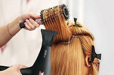 TREZORO - Ionic Salon Hair Power 2200 W, Black Rose