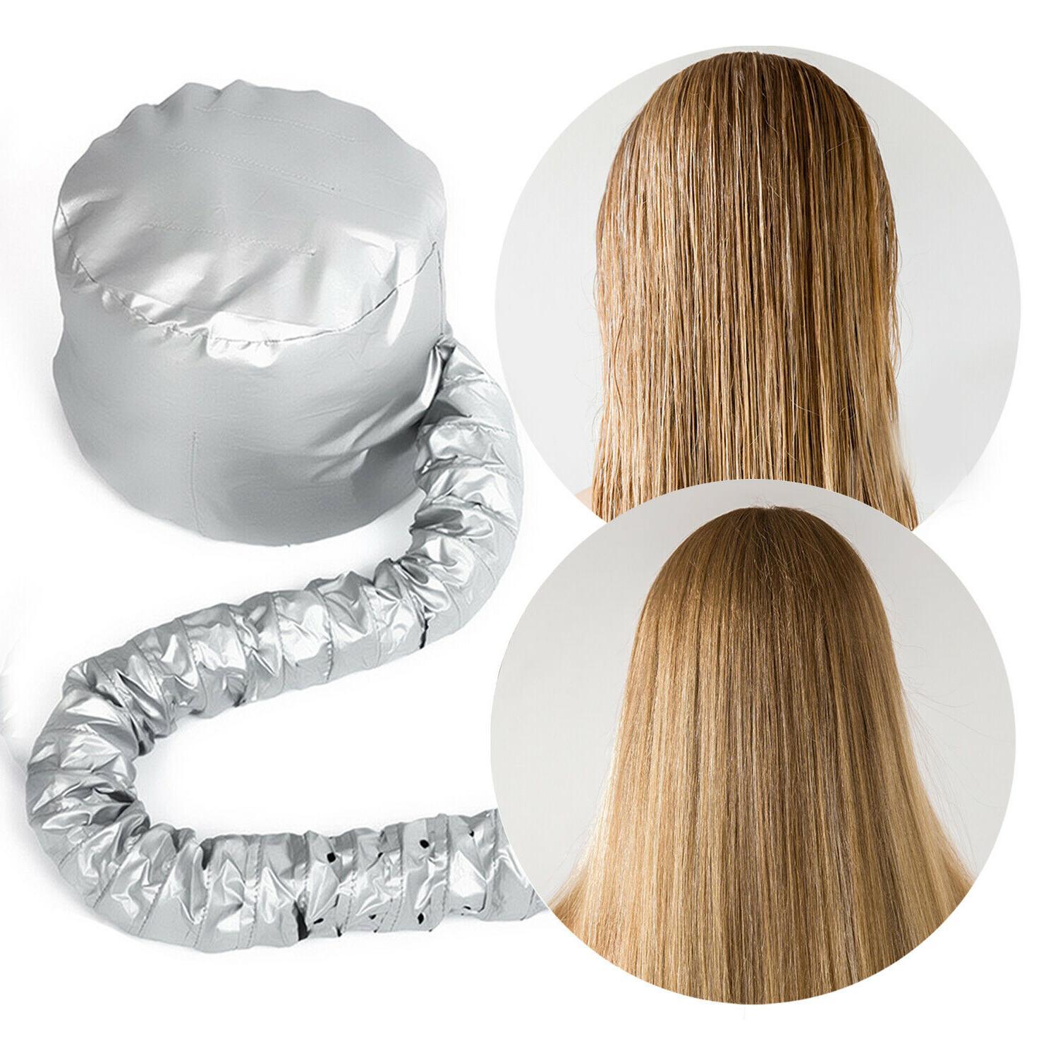 Professional Bonnet for Hair Blow Dryer Drying Cap Hat for Home/Travel