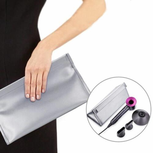 PU Leather Bag Handy Carry Supersonic Hair Dryer Storage Case