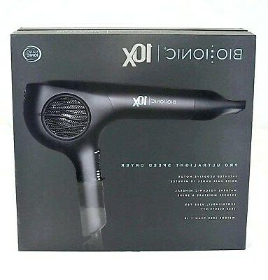 r 10x dryer pro ultralight speed hair