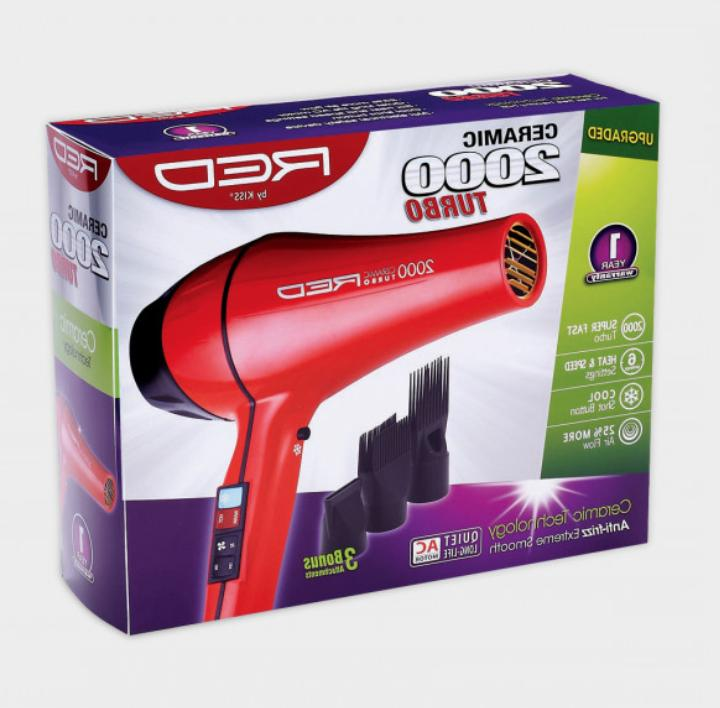 red by 2000 ceramic turbo hair blow