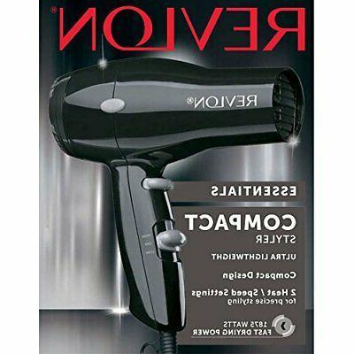 Revlon Compact Lightweight Hair Black Black