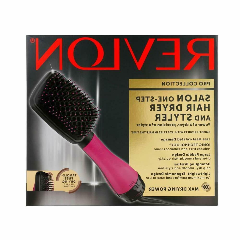 NEW Revlon One-Step 3 In 1 Hair Dryer and  Styler Hot Air Br