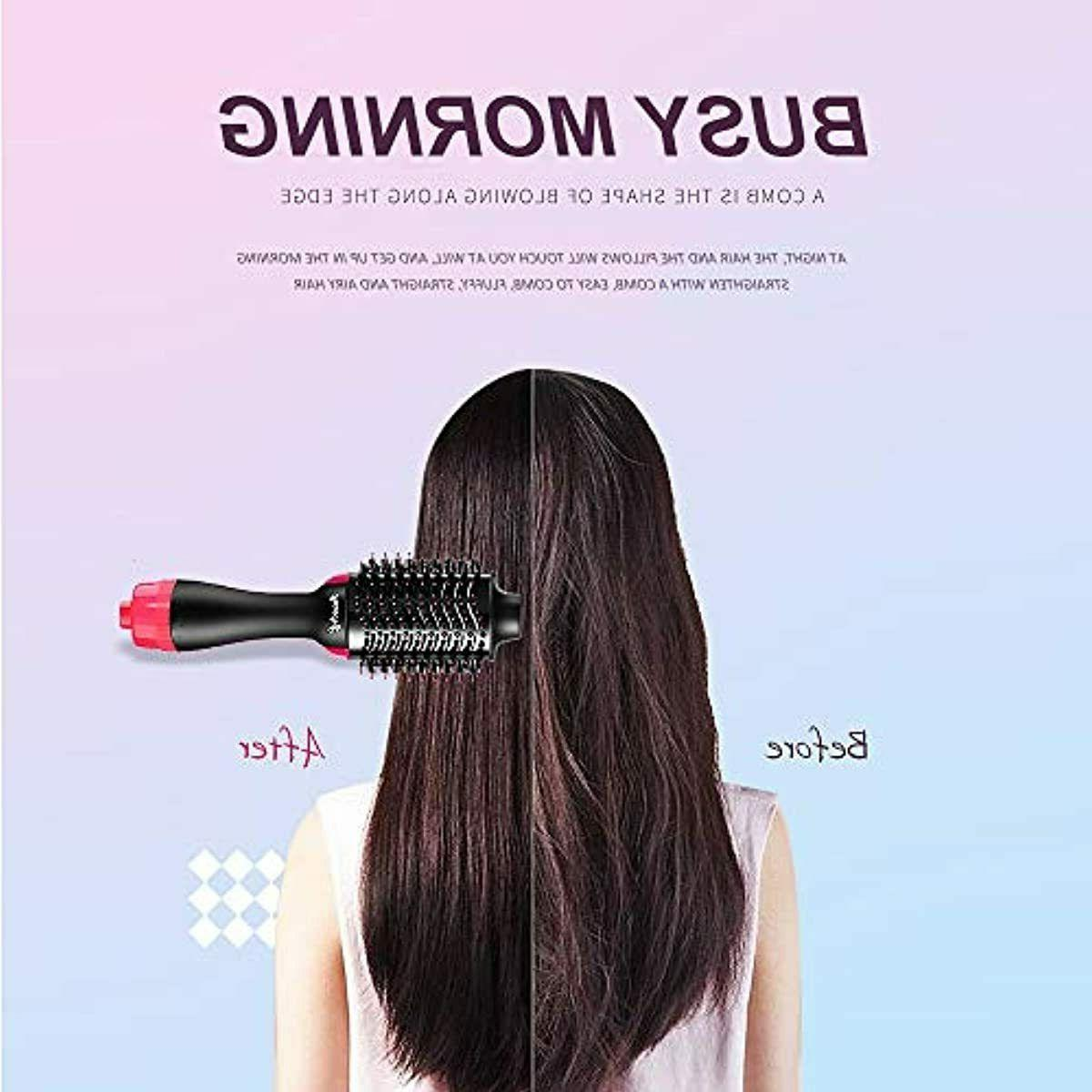 Revlon Hair Dryer & Brush PINK Black