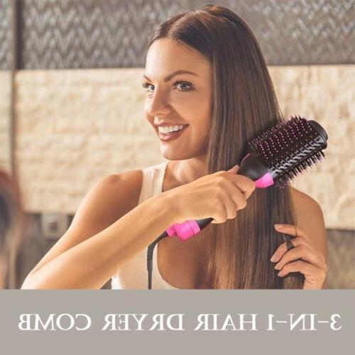 Revlon Pro Hair Dryer Comb Volumizer Brush Straightener US
