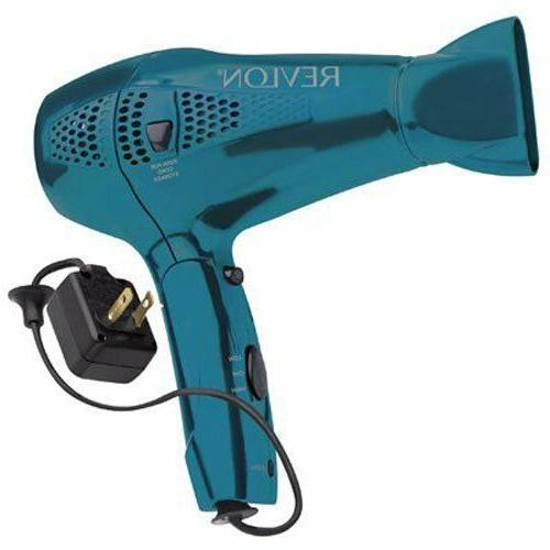 Revlon RVDR5175 1875 Watt Retractable Cord Hair Dryer 110-22