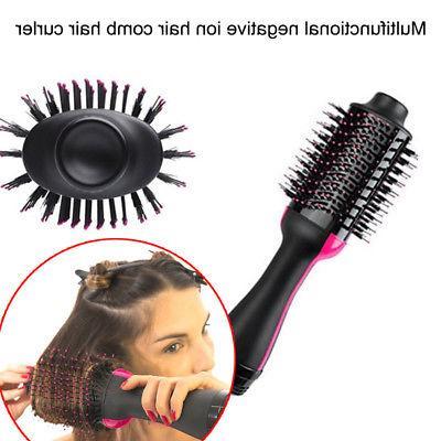 Salon Comb Hair Straightener Brush