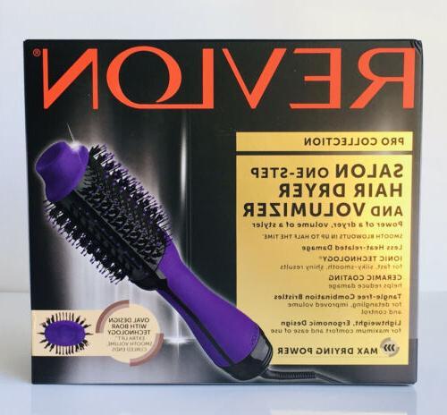 Revlon Step Hair Dryer Volumizer Purple SPECIAL