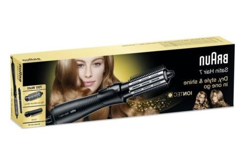 Braun Satin-Hair 7 IONTEC Airstyler AS720 Curling Dryer Bru