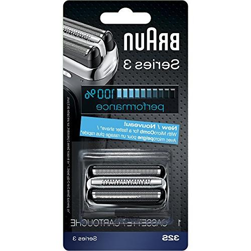 Braun Series Foil Cutter Head, Compatible with 3000s, 3010s, 3070cc,