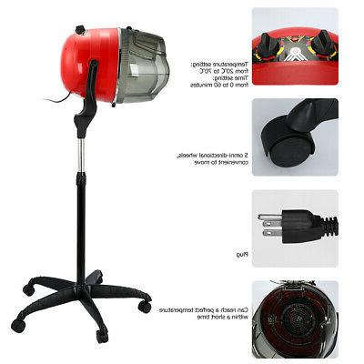 stand up hair dryer hood w timer