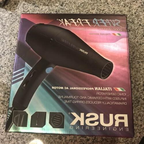 super freak 2000 watt hair dryer blow