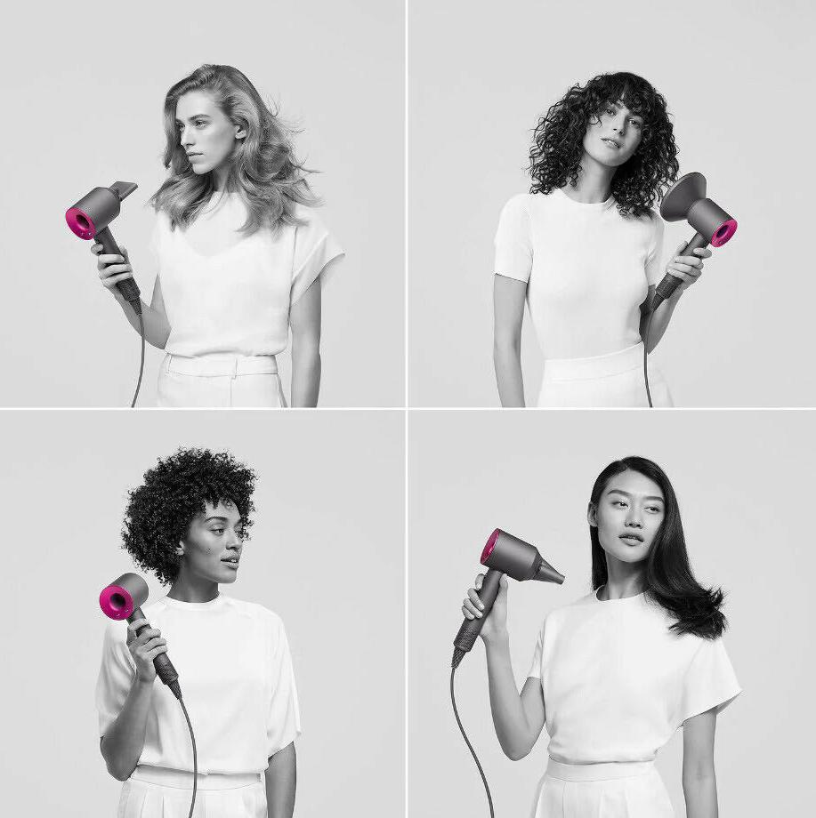 Dyson Supersonic Hair w/Attachments Nickel Sealed!