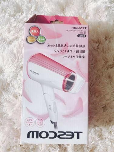 tid422u negative ions hair dryer pink 120v