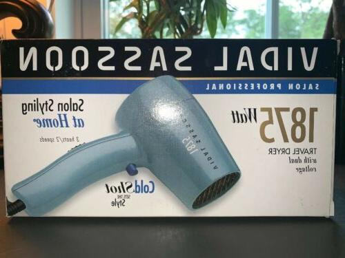 travel hair dryer 1875 watts vs528