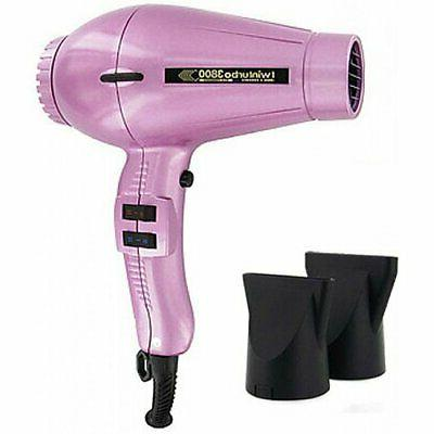 twin turbo 3800 ionic ceramic hair dryer
