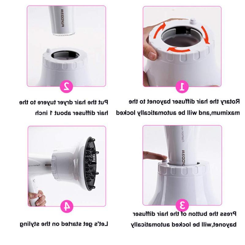 Universal Hair Dryer Attachment