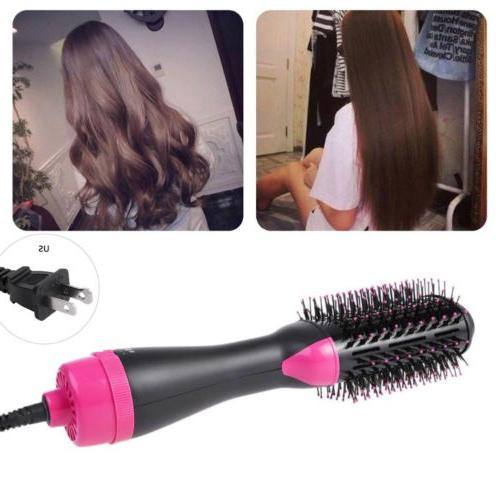US Collection Salon Hair Dryer and Volumizer Oval Brush Design
