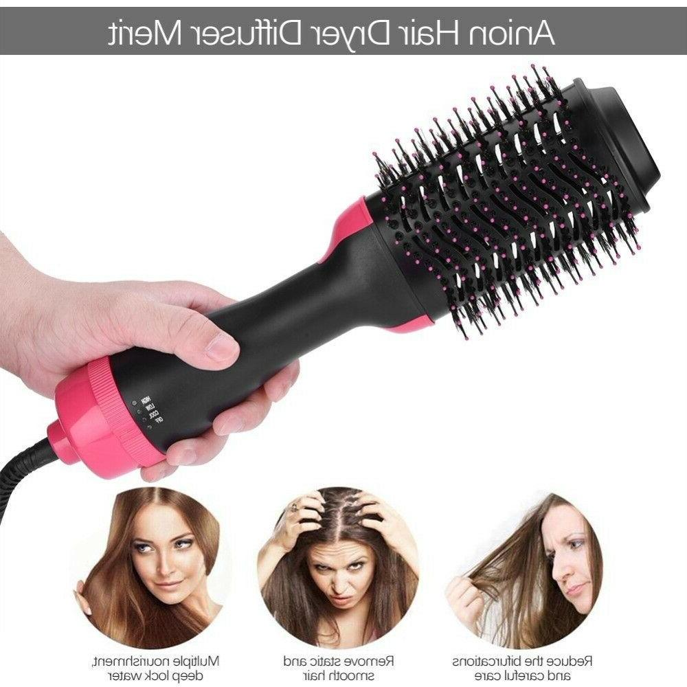 Salon One-Step Dryer and Comb 2 Curler