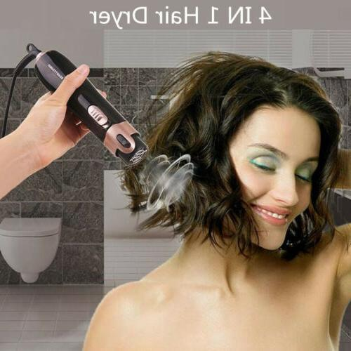 USA Hair Volumizer Brush Comb Curling Iron