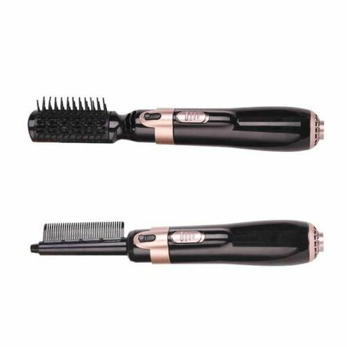 USA 4In1 One Brush Comb Curling Iron