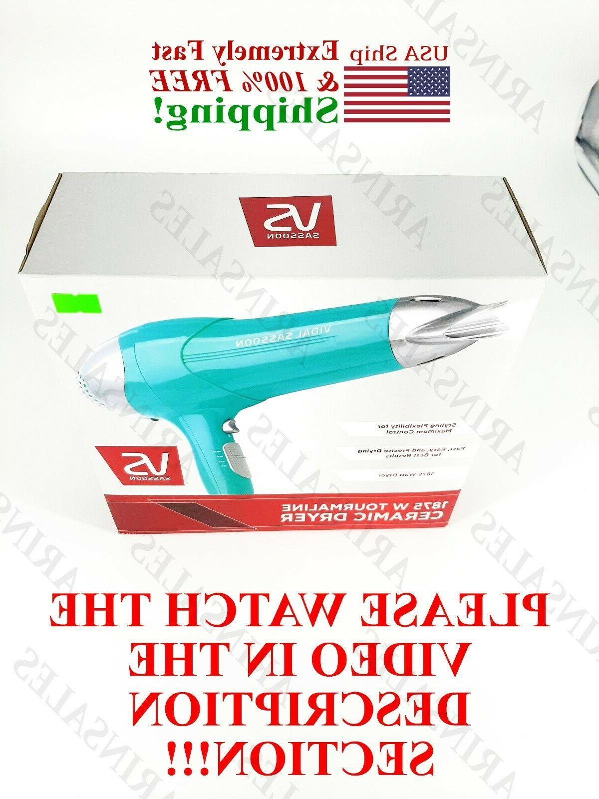vidal sassoon VS ceramic dryer hair salon !! SEE