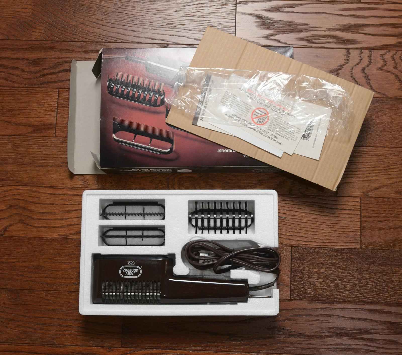 professional styler dryer NOS attachments VS