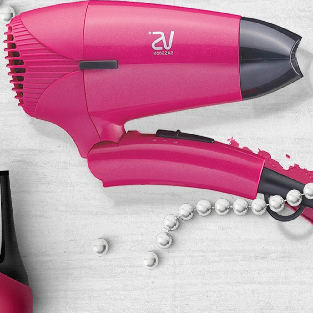 Vidal Portable Hair Dryer,Pink