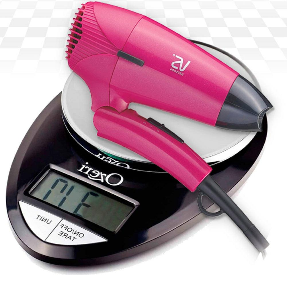 Vidal Sassoon VS910PIK Portable Minisize Travel Hair Dryer,Pink Free