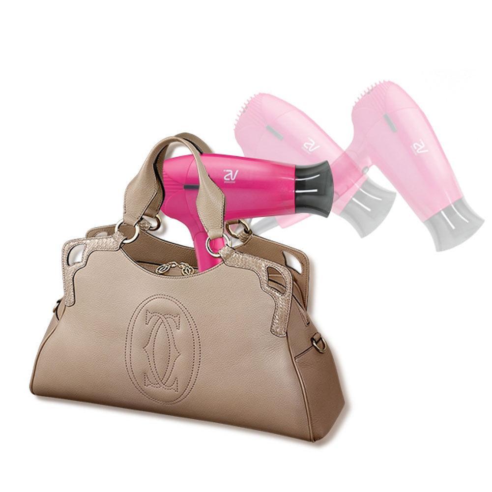 Vidal Portable Minisize Travel Dryer,Pink