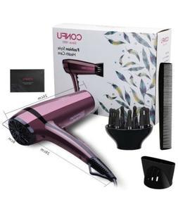 Lightweight Professional Ionic Hair Dryer CONFU 1875W Fast D