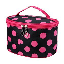 LiPing Spot Series Portable Travel Cosmetic Bag Makeup Handb