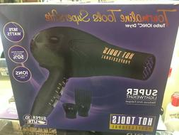 Lot Six Hot Tools Tourmaline SuperLite Turbo Ionic Dryer 187