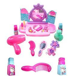lovely hair dryer lipstick dresser