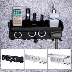 Magnetic Wall Mount Stable Holder Stand Hanger Hair Dryer Ac