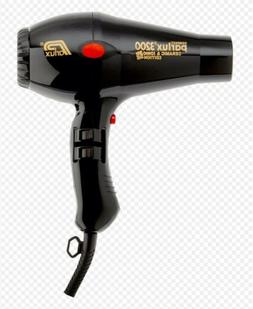 Parlux Milano 3800 Eco Friendly Professional Hair Dryer - Bl